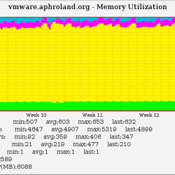 Memory Usage from co-located VMware server