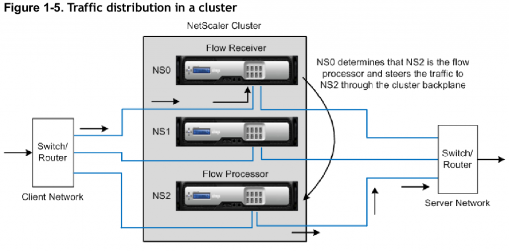 Citrix Netscaler Traffic Flow