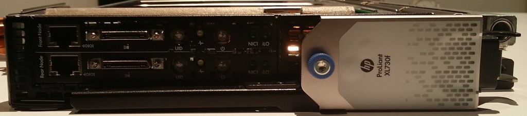 HP Apollo 8000 Series front end